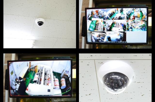 監視カメラ導入